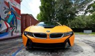 Metro Wrapz BMW i8 Matt Orange Folierung Wrap Tuning 3 190x111 Fotostory: Metro Wrapz BMW i8 mit Matt Orange Folierung