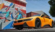 Metro Wrapz BMW i8 Matt Orange Folierung Wrap Tuning 7 190x111 Fotostory: Metro Wrapz BMW i8 mit Matt Orange Folierung