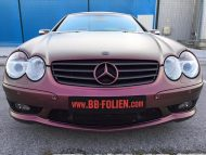 Platinum Purple X matt Folierung Mercedes SL R230 by BB Folien Tuning 17 190x143 Platinum Purple X Folierung am Mercedes SL by BB Folien