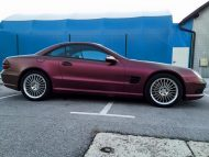 Platinum Purple X matt Folierung Mercedes SL R230 by BB Folien Tuning 18 190x143 Platinum Purple X Folierung am Mercedes SL by BB Folien