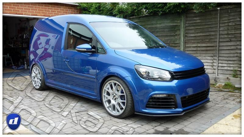 reflex auto design widebody vw caddy auf bbs felgen. Black Bedroom Furniture Sets. Home Design Ideas