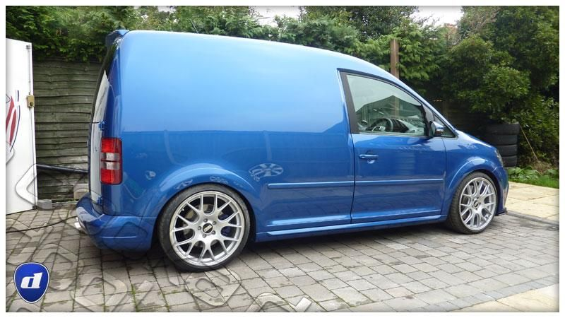 Reflex Auto Design Widebody VW Caddy BBS Felgen MK6 Tuning 6 Reflex Auto Design Widebody VW Caddy auf BBS Felgen