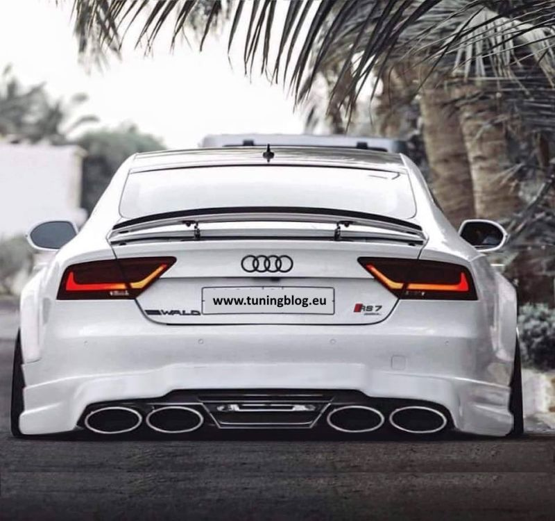 Rendering white audi rs7 a7 tuningblog.eu  Wald Internationale Audi A7 Sportback by tuningblog.eu