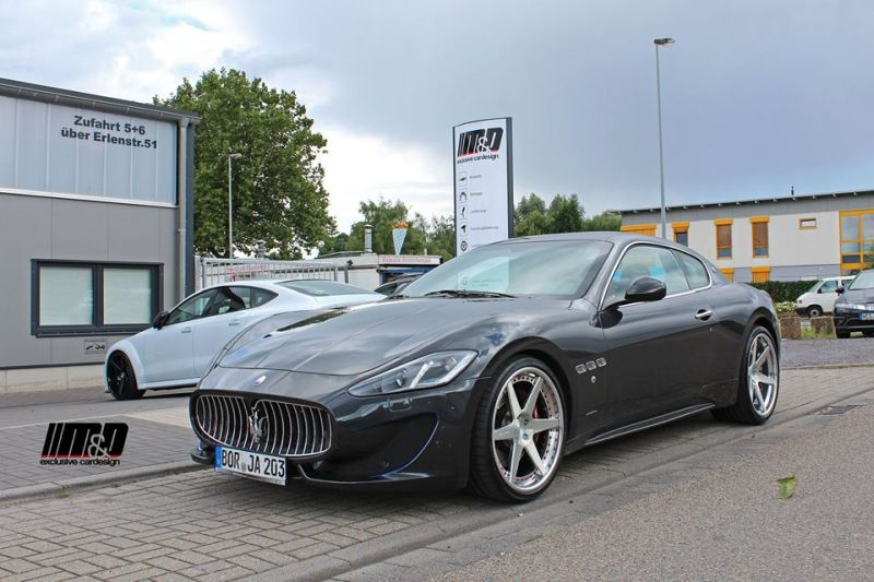 Rennen Forged R6 X Concave Tuning MD Maserati Granturismo Sport 1 Rennen Forged R6 X Concave Alu's by M&D am Maserati Granturismo Sport