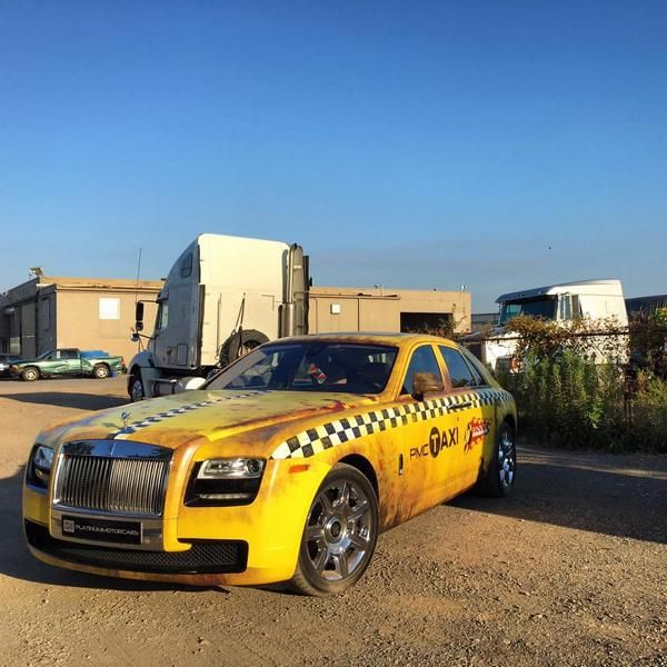 Rolls-Royce Ghost Ratlook Taxi Tuning Wrap Folierung Envy Auto Group (5)