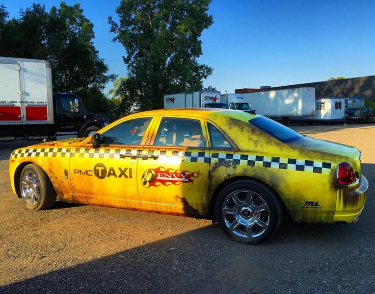 Rolls-Royce Ghost Ratlook Taxi Tuning Wrap Folierung Envy Auto Group (6)