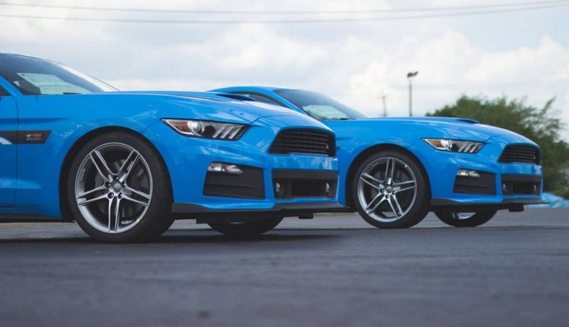 Roush Performance Ford Mustang RS-1 RS-2 RS-3 Blau Tuning 2017 (1)
