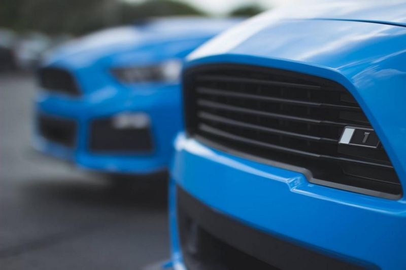 Roush Performance Ford Mustang RS 1 RS 2 RS 3 Blau Tuning 2017 11 Fotostory: 2 x Roush Performance Ford Mustang's in Blau