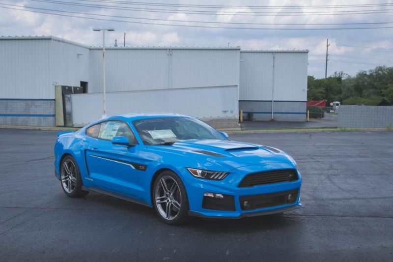Roush Performance Ford Mustang RS-1 RS-2 RS-3 Blau Tuning 2017 (2)