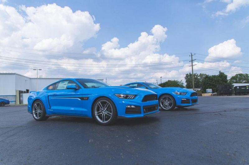 Roush Performance Ford Mustang RS-1 RS-2 RS-3 Blau Tuning 2017 (4)