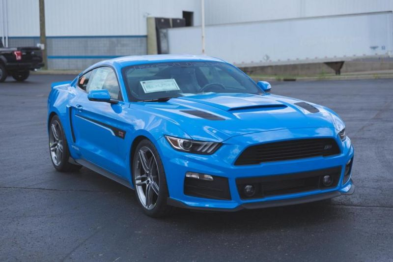 Roush Performance Ford Mustang RS-1 RS-2 RS-3 Blau Tuning 2017 (5)