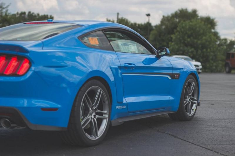 Roush Performance Ford Mustang RS-1 RS-2 RS-3 Blau Tuning 2017 (6)