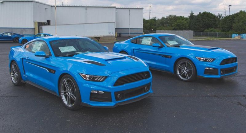 Roush Performance Ford Mustang RS-1 RS-2 RS-3 Blau Tuning 2017 (9)