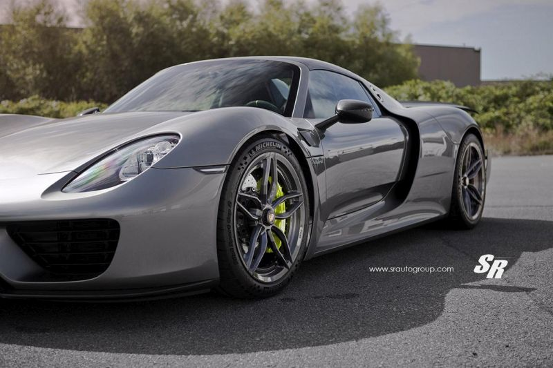 SR Auto Group Porsche 918 Spyder PUR RS23.M2 Tuning 1 Passt perfekt   SR Auto Group Porsche 918 Spyder auf PUR RS23.M2 Alu's