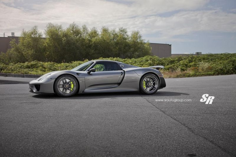 SR Auto Group Porsche 918 Spyder PUR RS23.M2 Tuning 2 Passt perfekt   SR Auto Group Porsche 918 Spyder auf PUR RS23.M2 Alu's