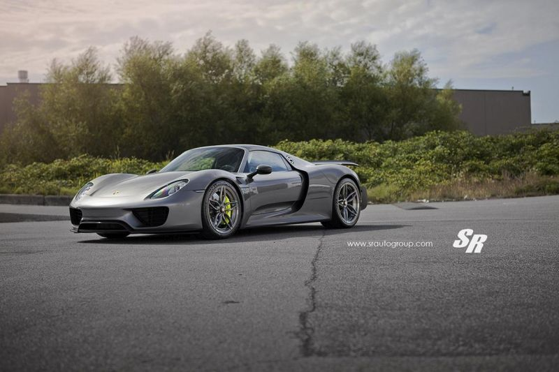 SR Auto Group Porsche 918 Spyder PUR RS23.M2 Tuning 3 Passt perfekt   SR Auto Group Porsche 918 Spyder auf PUR RS23.M2 Alu's