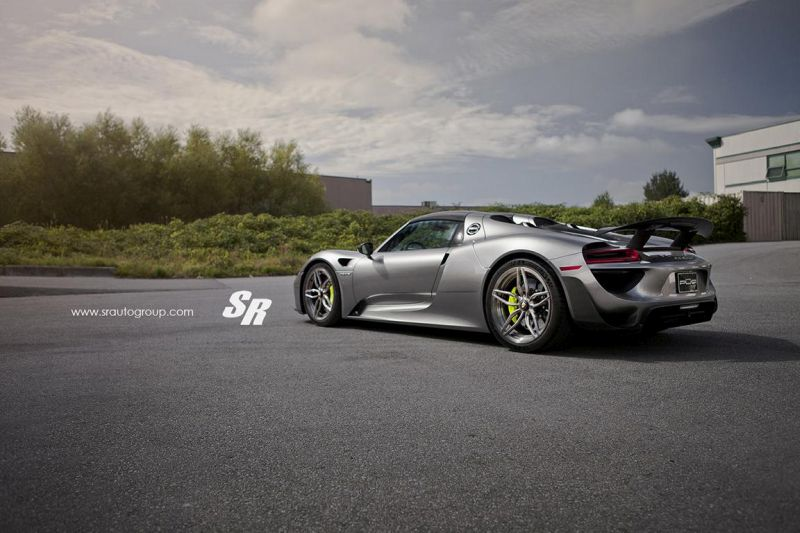 SR Auto Group Porsche 918 Spyder PUR RS23.M2 Tuning 4 Passt perfekt   SR Auto Group Porsche 918 Spyder auf PUR RS23.M2 Alu's