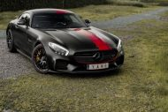 Satin Black Mercedes AMG GT Folierung Tuning Sign Mania 4 190x127 Fotostory: Sign Mania Folierung am Mercedes AMG GTs