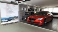 Satin Smoldering Red Folierung BMW 5er F10 Tuning Folienwerk NRW 5 190x107 Satin Smoldering Red folierter BMW 5er F10 by Folienwerk NRW