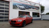 Satin Smoldering Red Folierung BMW 5er F10 Tuning Folienwerk NRW 6 190x107 Satin Smoldering Red folierter BMW 5er F10 by Folienwerk NRW