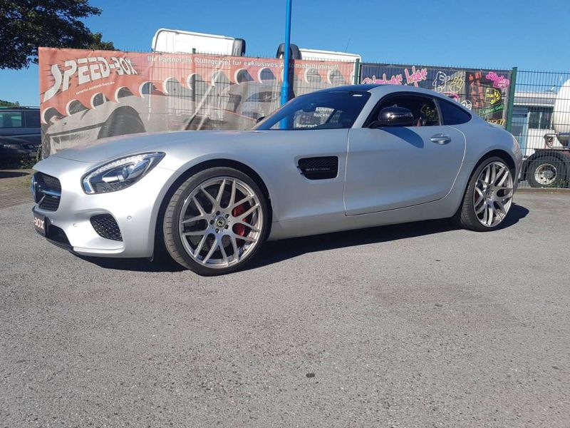 Schmidt Gambit Speed Box Mercedes AMG GTs Tuning 4 Schmidt Gambit Alufelgen in 20 Zoll am Speed Box Mercedes AMG GTs