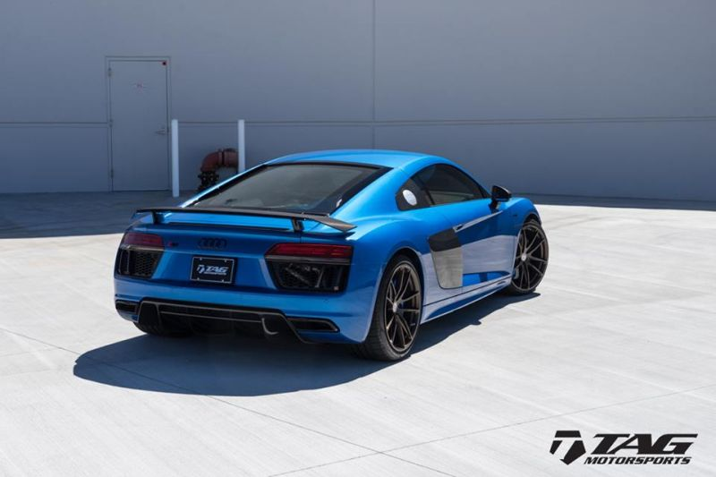 TAG Motorsports Audi R8 V10 Plus HRE P104 Tuning 1 Eleganter Sportler   TAG Motorsports Audi R8 V10 Plus auf P104 Alu's