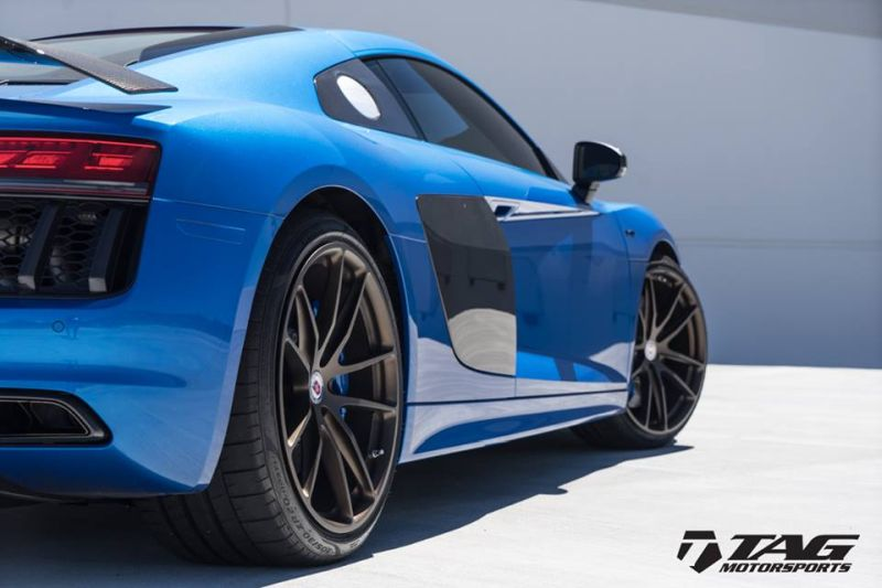 TAG Motorsports Audi R8 V10 Plus HRE P104 Tuning 2 Eleganter Sportler   TAG Motorsports Audi R8 V10 Plus auf P104 Alu's