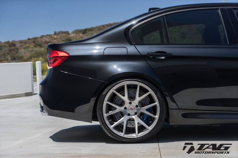 TAG Motorsports BMW F80 M3 Tuning 20 Zoll Vossen VPS 306 Alufelgen AWE KW 3 TAG Motorsports   BMW F80 M3 auf 20 Zoll Vossen VPS 306 Alu's