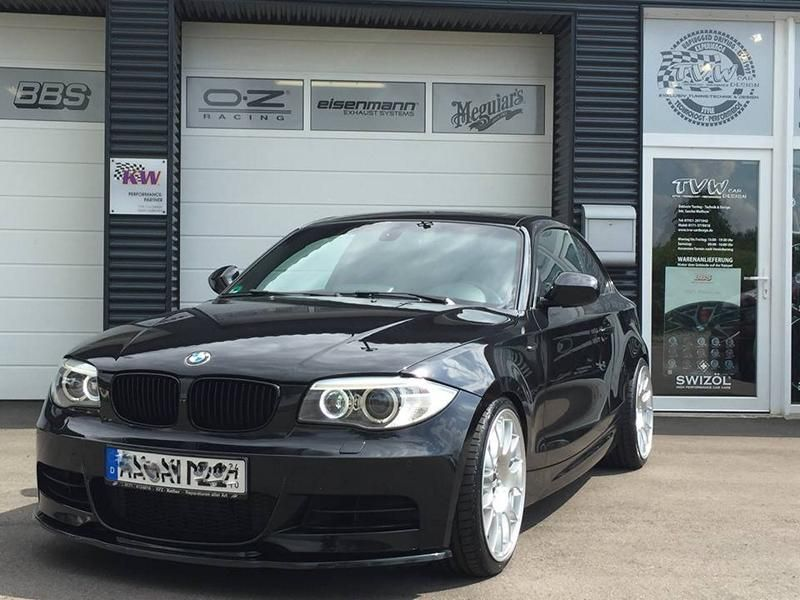 TVW Car Design BMW 135i F82 Coupe KW BBS Tuning (6)