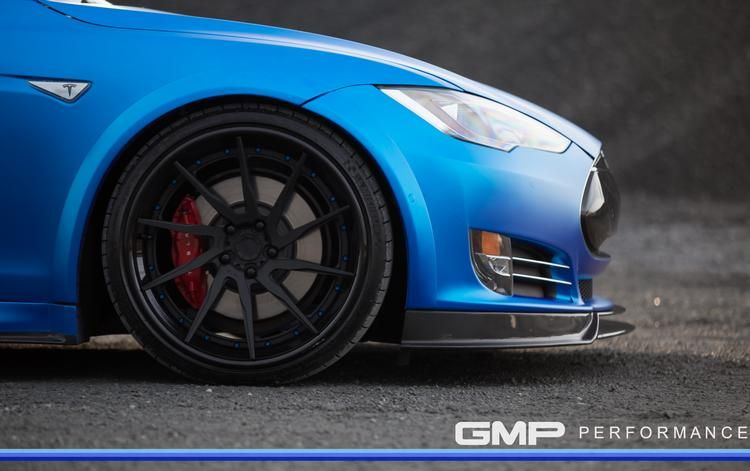 Tesla Model S Tuning ADV.1 Revozport R Zentric Mattblau Carbon GMP Performance 1 Extrem schicker Stromer   Tesla Model S by GMP Performance