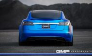 Tesla Model S Tuning ADV.1 Revozport R Zentric Mattblau Carbon GMP Performance 11 190x116 Extrem schicker Stromer   Tesla Model S by GMP Performance