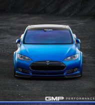 Tesla Model S Tuning ADV.1 Revozport R Zentric Mattblau Carbon GMP Performance 13 190x211 Extrem schicker Stromer   Tesla Model S by GMP Performance