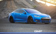 Tesla Model S Tuning ADV.1 Revozport R Zentric Mattblau Carbon GMP Performance 16 190x116 Extrem schicker Stromer   Tesla Model S by GMP Performance
