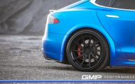 Tesla Model S Tuning ADV.1 Revozport R Zentric Mattblau Carbon GMP Performance 2 190x119 Extrem schicker Stromer   Tesla Model S by GMP Performance
