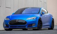 Tesla Model S Tuning ADV.1 Revozport R Zentric Mattblau Carbon GMP Performance 5 190x112 Extrem schicker Stromer   Tesla Model S by GMP Performance
