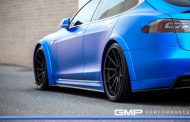 Tesla Model S Tuning ADV.1 Revozport R Zentric Mattblau Carbon GMP Performance 8 190x122 Extrem schicker Stromer   Tesla Model S by GMP Performance