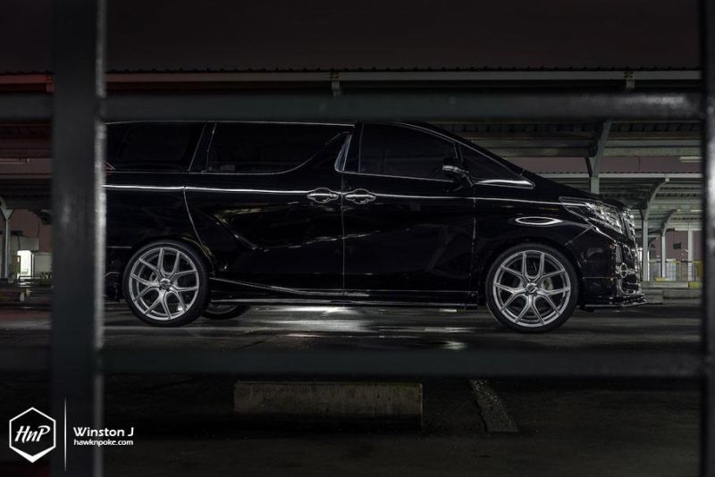 Toyota Alphard Wald Internationale Bodykit Illima (3)