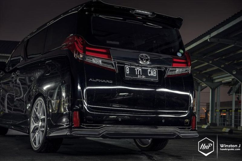 Toyota Alphard Wald Internationale Bodykit Illima (6)