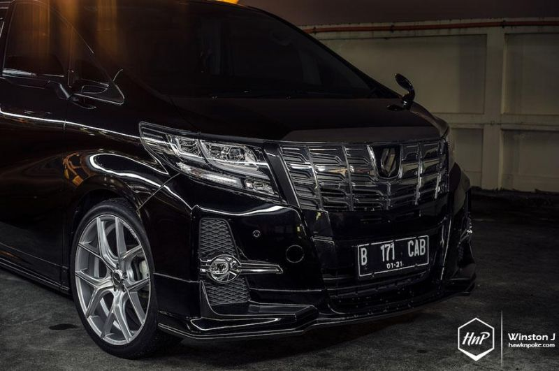 Toyota Alphard Wald Internationale Bodykit Illima (9)