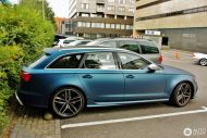 Tuning 560PS Audi A6 RS6 C7 Avant in Mattblau 7 190x127 Fotostory: 560PS Audi A6 RS6 C7 Avant in Mattblau