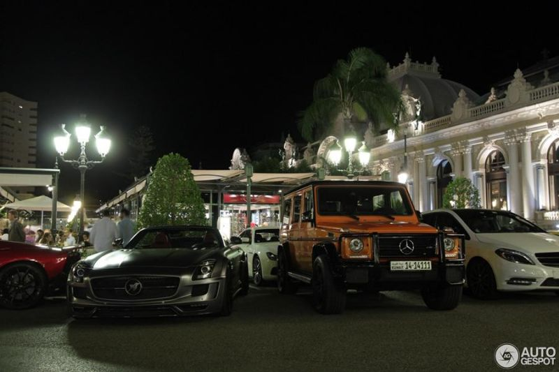 Tuning Mercedes SLS AMG Roadster 636PS Hamann Hawk 1 Fotostory: Mercedes SLS AMG Roadster als 636PS Hamann Hawk