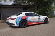 Used Look Martini Folierung Maserati MC Stradale Tuning Wrap 4 190x126 Fotostory: Used Look Folierung am Maserati MC Stradale