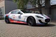 Used Look Martini Folierung Maserati MC Stradale Tuning Wrap 6 190x126 Fotostory: Used Look Folierung am Maserati MC Stradale