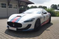 Used Look Martini Folierung Maserati MC Stradale Tuning Wrap 8 190x126 Fotostory: Used Look Folierung am Maserati MC Stradale