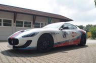 Used Look Martini Folierung Maserati MC Stradale Tuning Wrap 9 190x126 Fotostory: Used Look Folierung am Maserati MC Stradale
