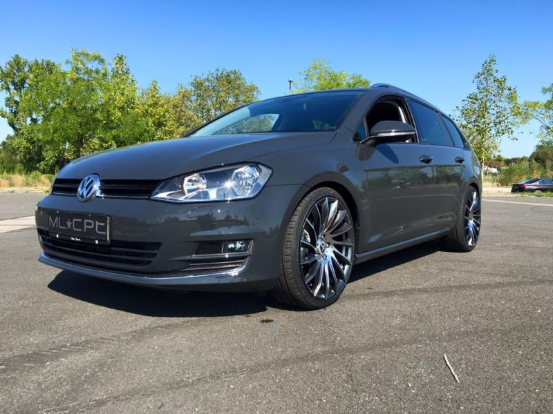 fotostory vw golf 7 variant auf tomason tn16 alu s by ml. Black Bedroom Furniture Sets. Home Design Ideas