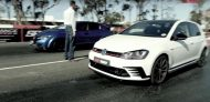 VW Golf GTI Clubsport Honda Civic Type R Dragerace 1 190x92 Video: Vergleich   VW Golf GTI Clubsport vs. Honda Civic Type R