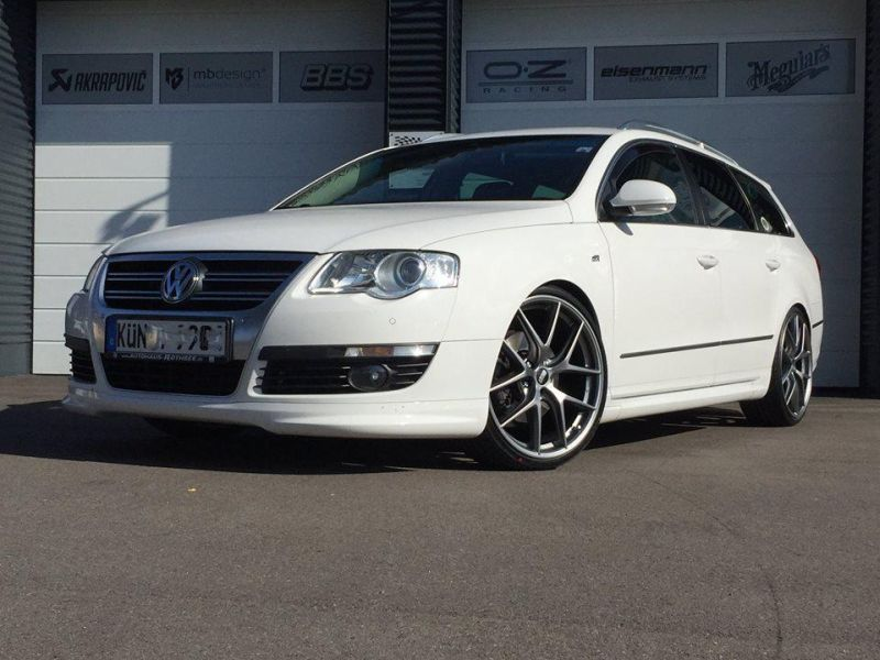 VW Passat B6 R BBS CI R TVW Car Design 1 Dezenter Power Kombi   VW Passat B6 R von TVW Car Design