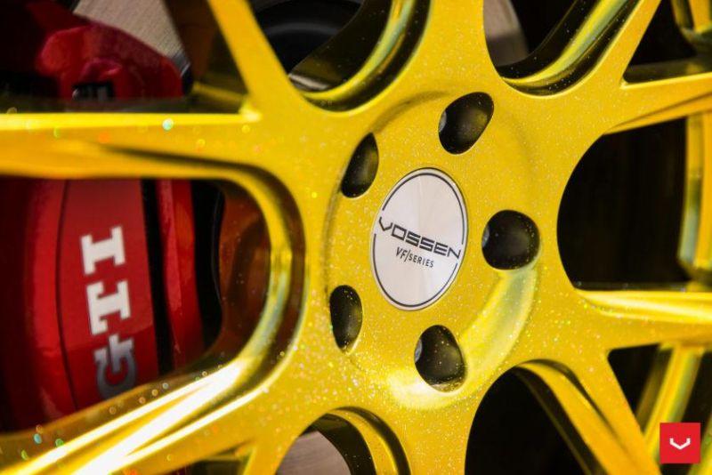 Volkswagen-GTI-MK7-VFS-6-Gold-Tuning-Airrex-Wrap-Folierung- Vossen-Wheels (14)