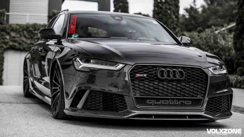 Could not be better - full carbon Audi RS6 C7 Avant 742PS ...